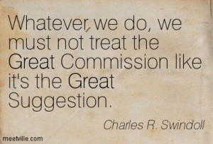 great missionary quotes commission