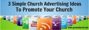 church advertising ideas