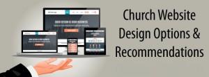 how to design a church website