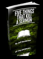 5 Things That Kill a Sermon
