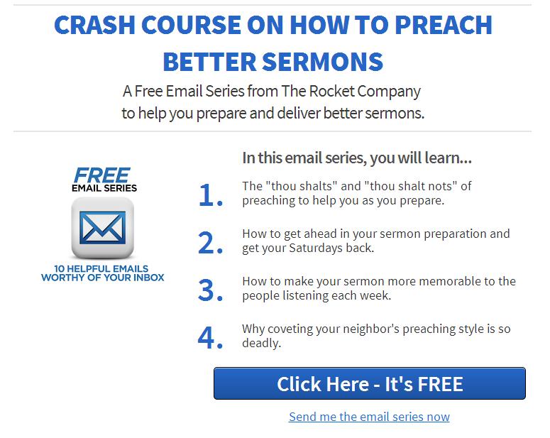 Preach Better Sermons Crash Course