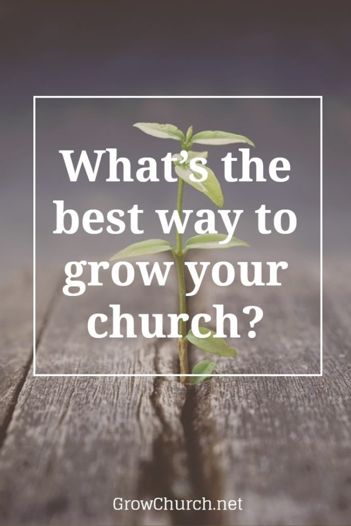 what's the best way to grow your church membership