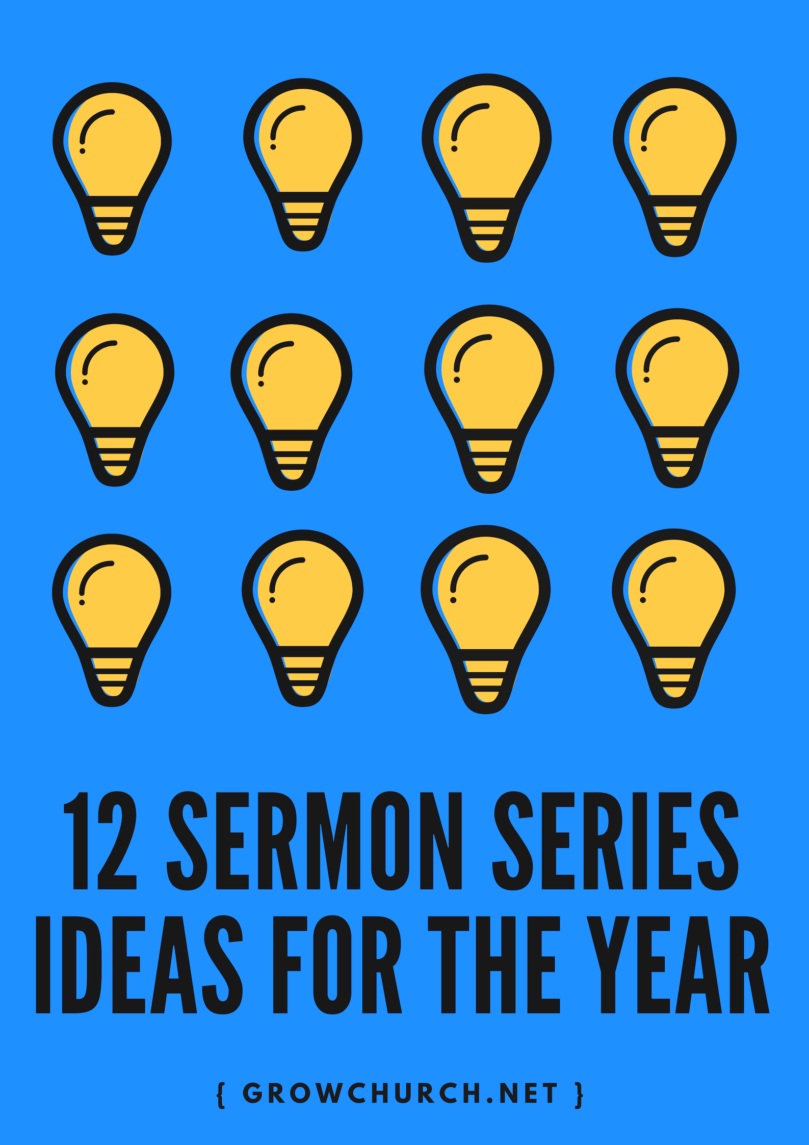12 Compelling Sermon Series Ideas You Can Use in 2019