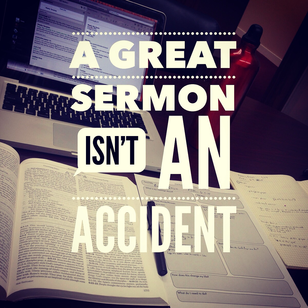 Two Helpful Resources for Efficient Sermon Preparation
