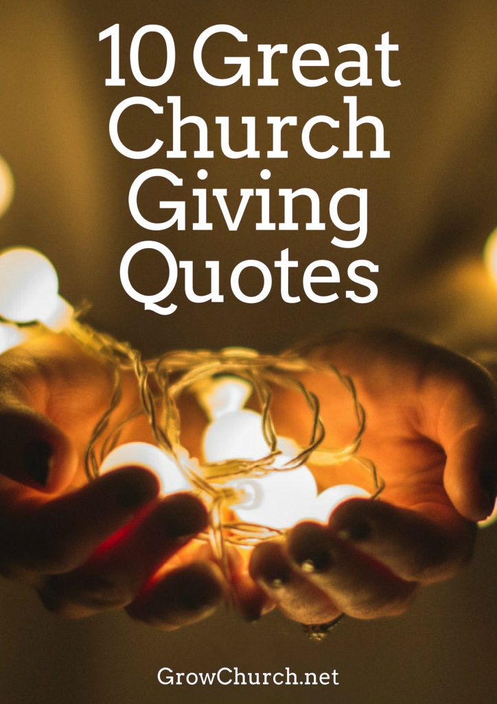 church giving quotes