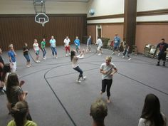 church youth group games and activities