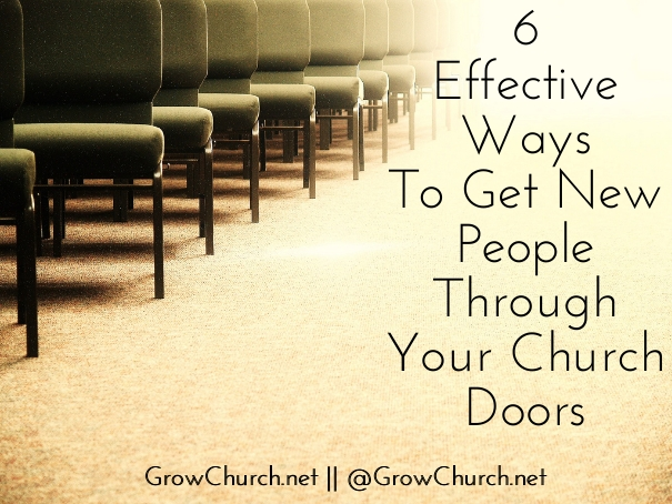 How To Get New People In Church