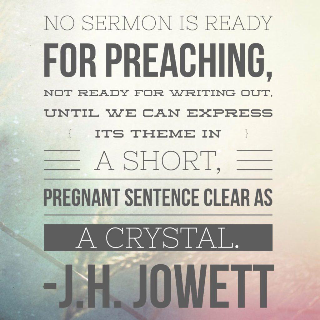 make your sermon sticky