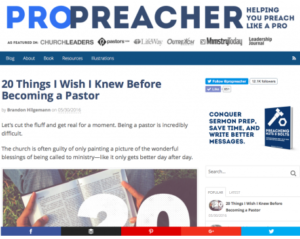 blogs about preaching 2