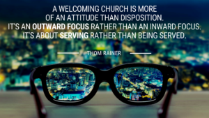 church visitor quote