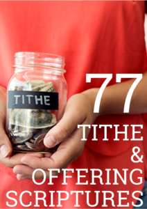 tithe and offering scriptures