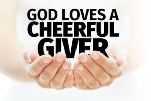 what does the bible say about giving