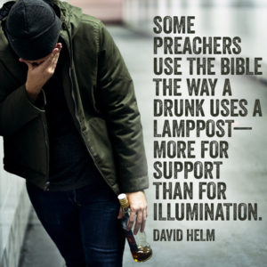why expository preaching