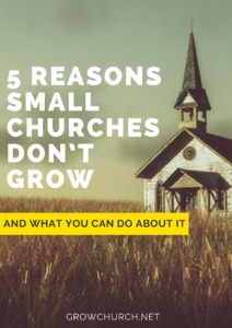 why small churches dont grow