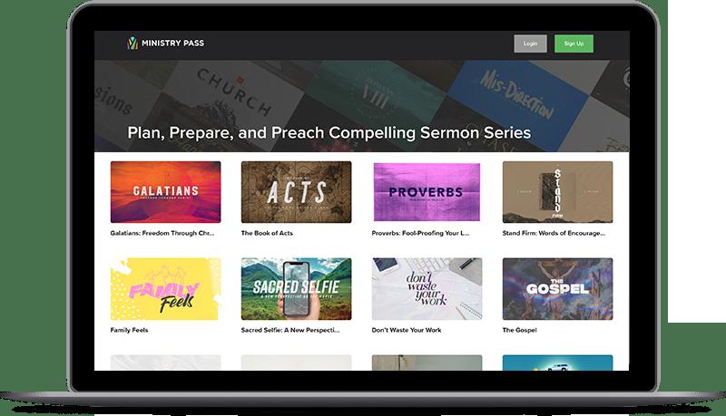 ministry pass sermon series