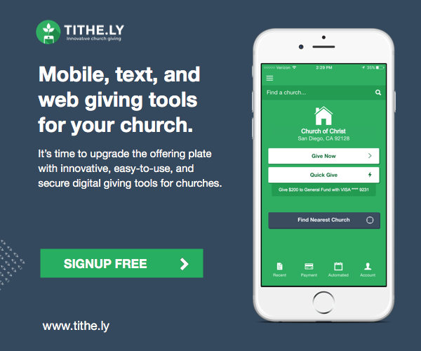 tithely online church giving