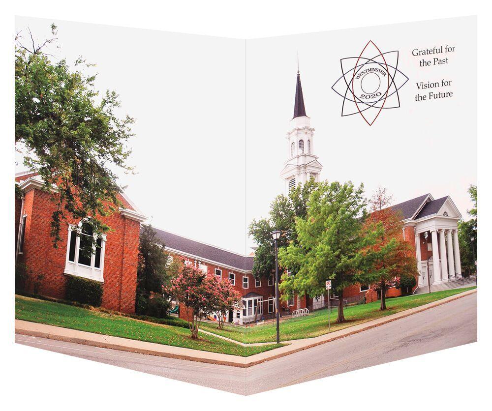 church welcome folder